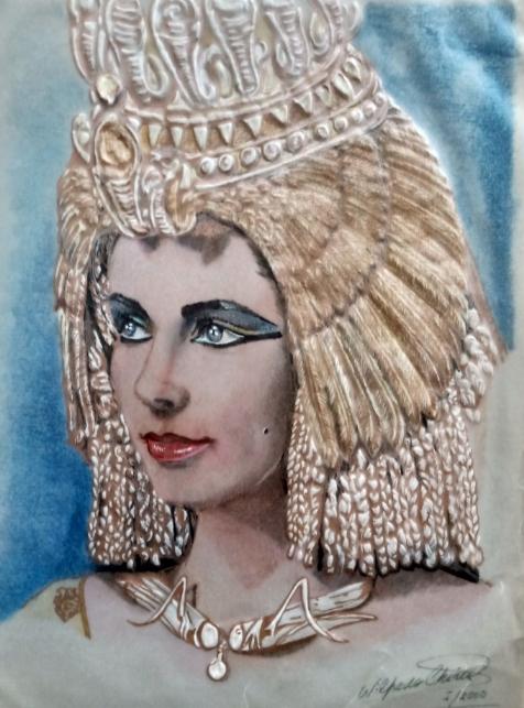 Elizabeth Taylor par wilfredo